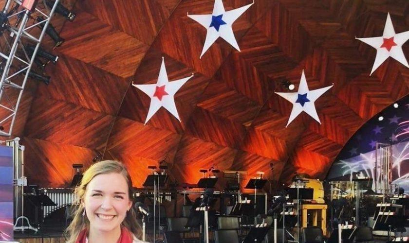 Georgetown chorus teacher sings at Boston's 4th of July Spectacular