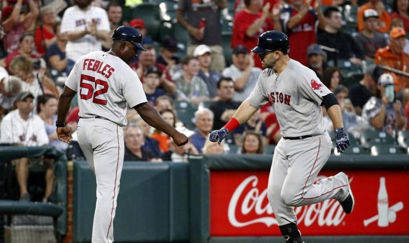 Porcello, Moreland propel Red Sox past Orioles