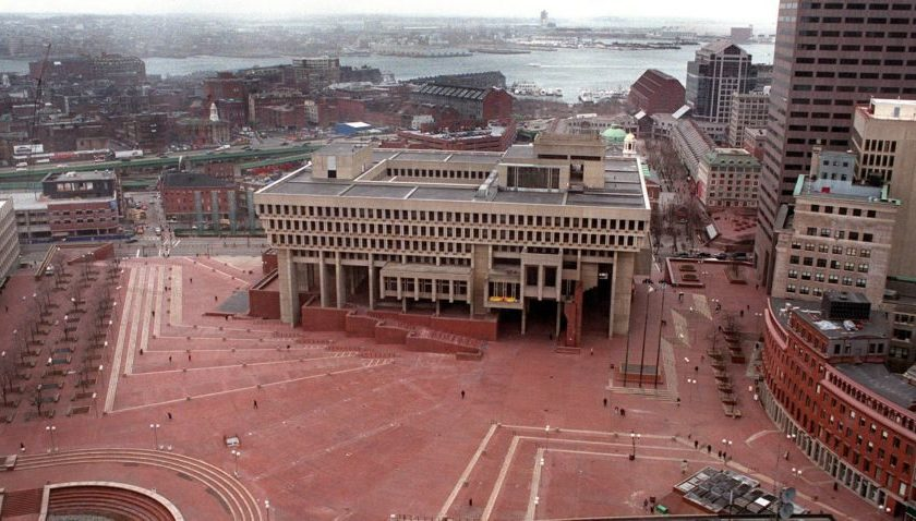 Why is Boston City Hall the way it is?