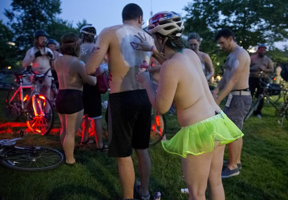 Some dockless bike companies don't mind if you use their bikes for Boston's World Naked Bike Ride