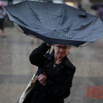 Hot and humid, with stormy weather on the way