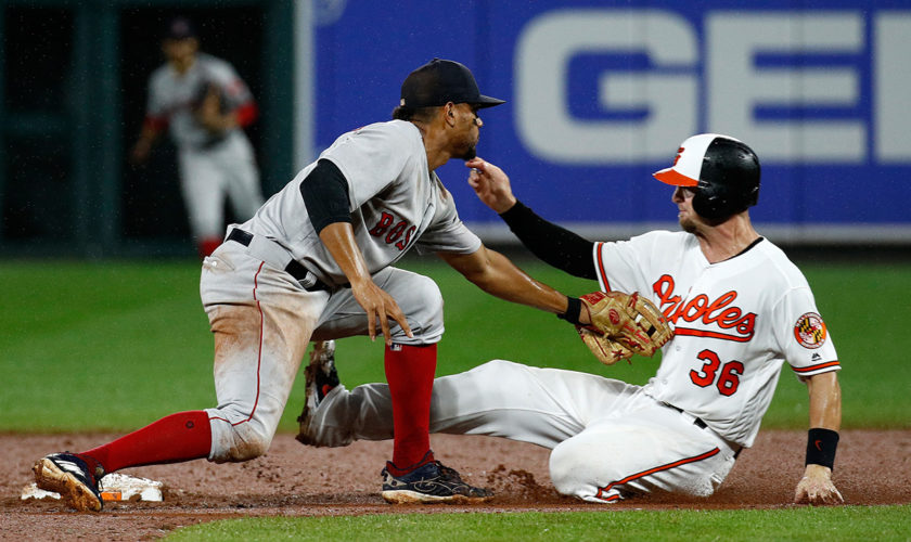 Tuesday's Sports Minute: Bosox beat Birds