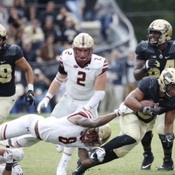 Boston College football suffers 1st loss of season