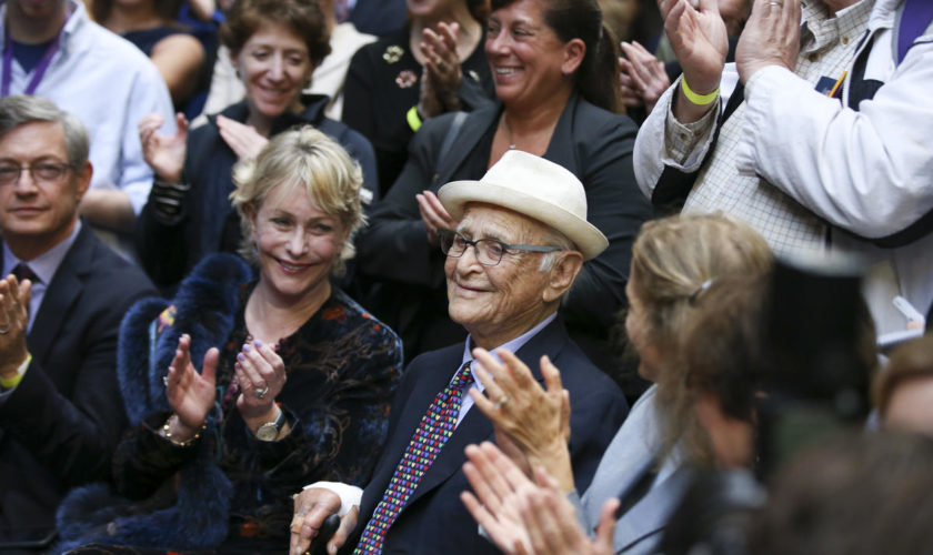 Norman Lear honored at Emerson College