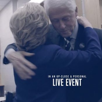 Bill, Hillary Clinton Taking Nationwide Tour To Boston