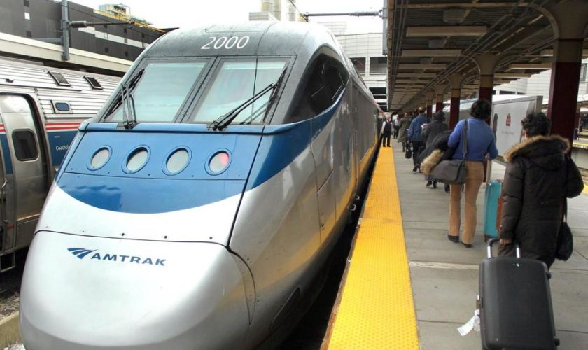 Passengers get stuck on Amtrak train to Boston for more than five hours