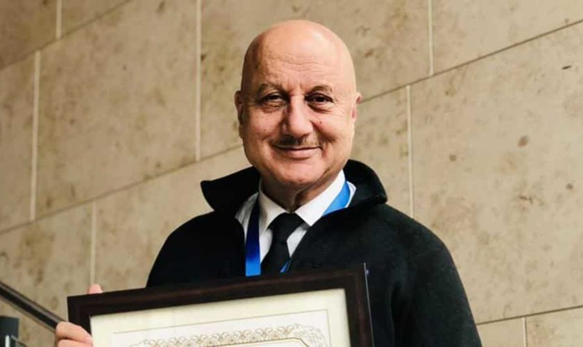 Anupam Kher conferred 'Distinguished Fellow' title by Boston business school