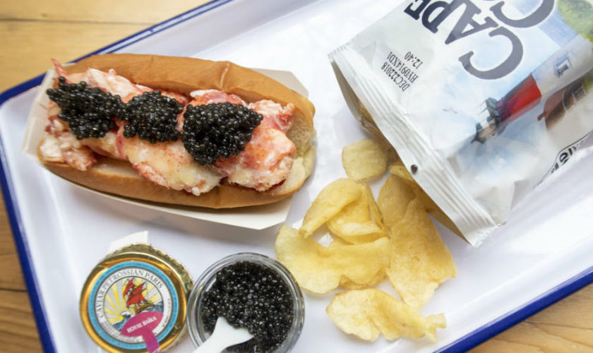 Luxuriate with a Caviar-Drenched Luke's Lobster Roll in the Back Bay