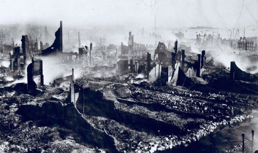 146 years ago Friday: Great Boston Fire of 1872 tore through downtown