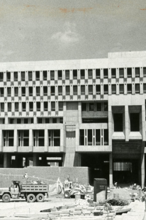Boston City Hall At 50. From World's Ugliest Building To Brutalist Masterpiece