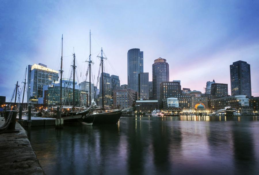 Walsh Lays Out Big Vision to Invest in Boston Harbor