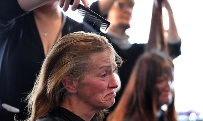 Homeless women offered medical care — plus a haircut, facial, and even a movie