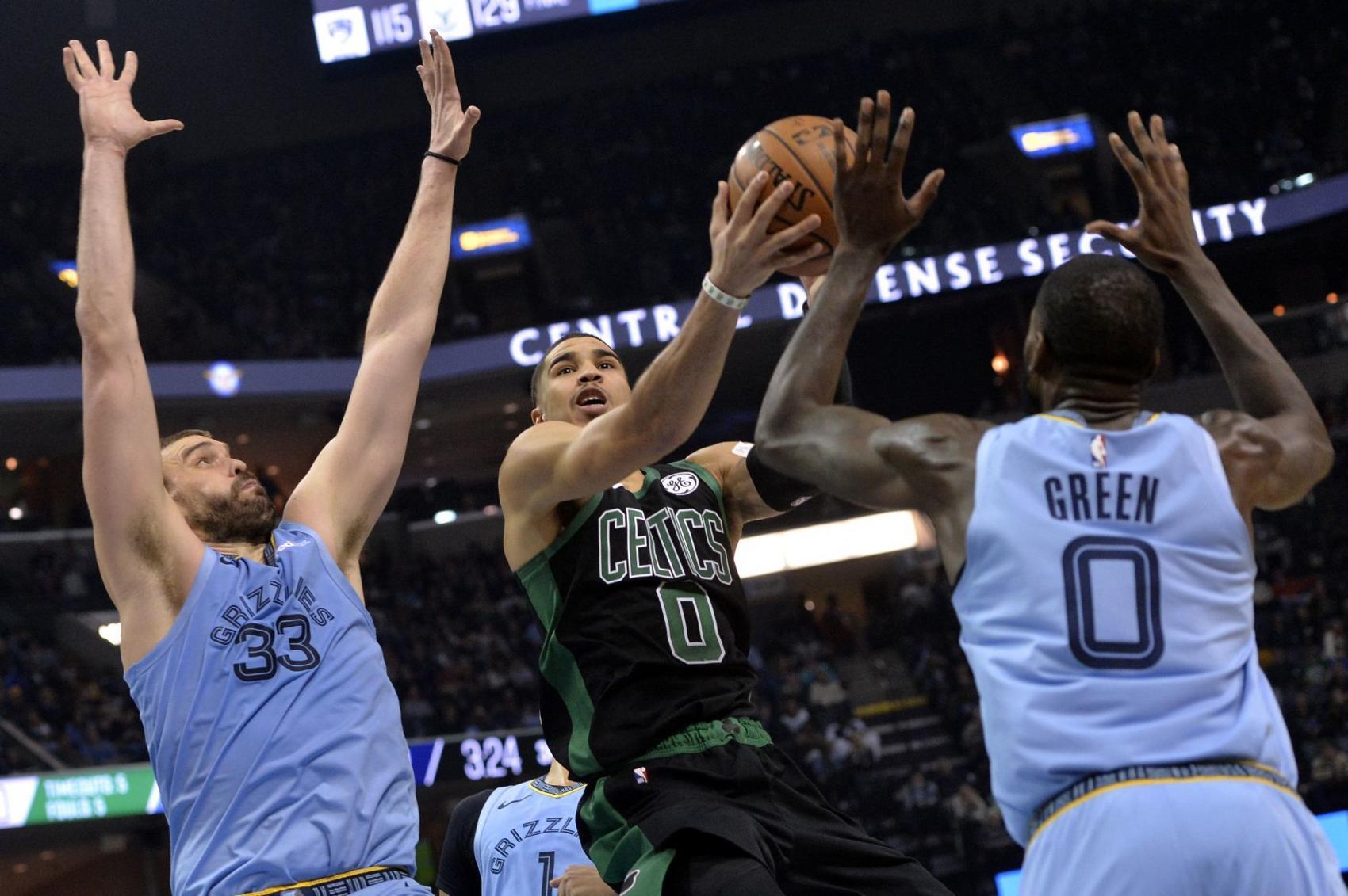 Tatum's star still rising in Boston