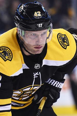 Bruins' David Backes Describes 'Analyzing' Games As Healthy Scratch