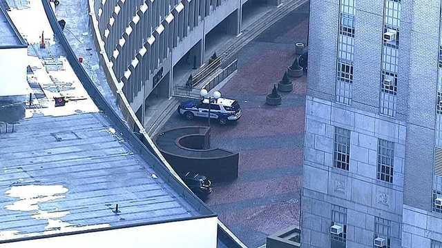 Police: Man stabbed inside Boston courthouse