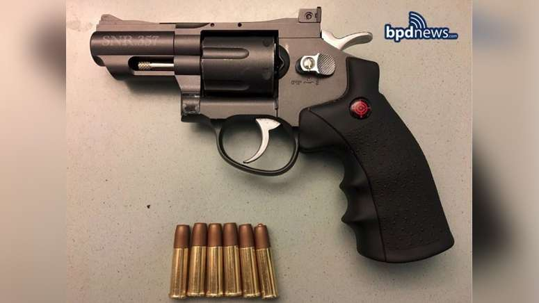 Man with replica gun arrested after violent struggle with Boston police