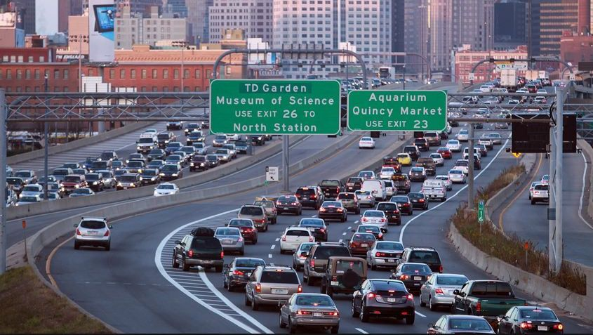 Bumpah to bumpah: Boston has worst rush-hour traffic in country, report says