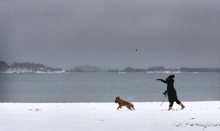 Another winter storm is heading toward Mass.