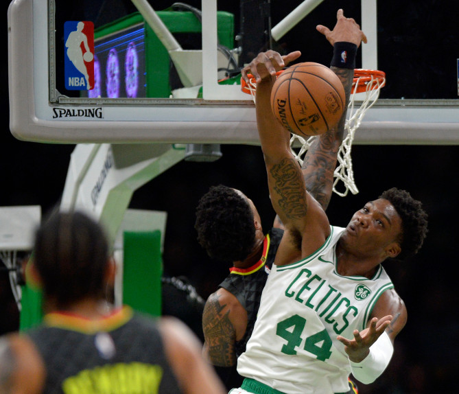Back in time: Celtics rookie Robert Williams III stepped out of a time warp, into the NBA