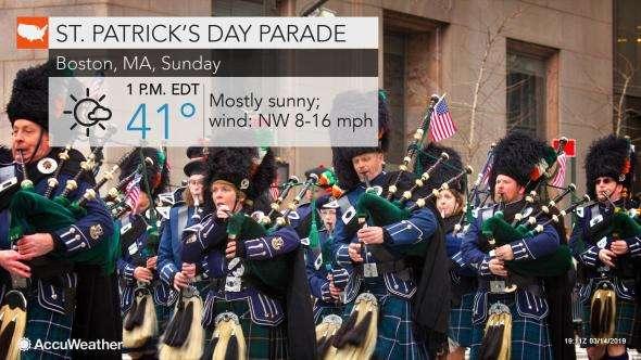 St. Patrick's Day 2019: South Boston paradegoers to enjoy sunny, chilly weather
