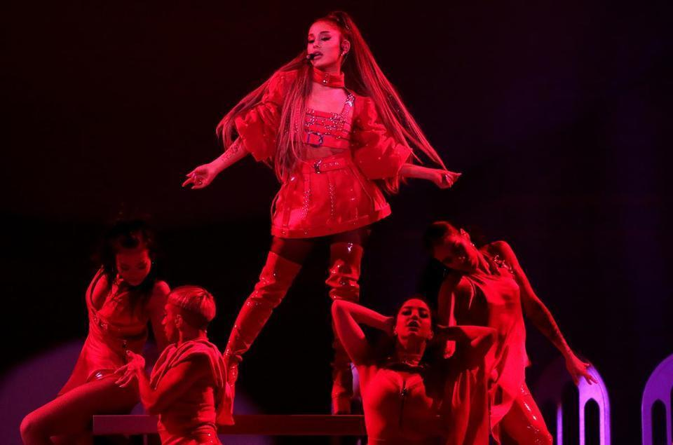 Photos: Ariana Grande performs at TD Garden