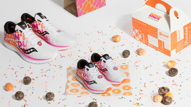 New Limited-Edition Dunkin' Sneakers Released Ahead of Boston Marathon