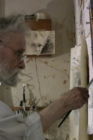 Arthur Polonsky, Boston Expressionist artist and teacher, dies at 93