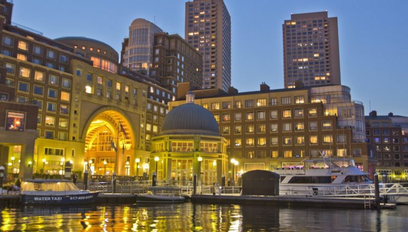 A new beer garden with rotating breweries will launch at Rowes Wharf