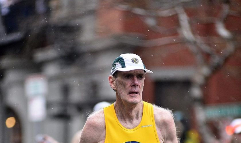 Meet the CNY runner who has finished the Boston Marathon 50 times