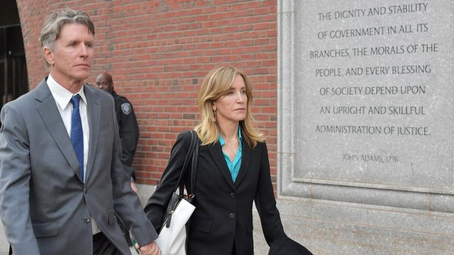 Prosecutors to seek up to 10 months in jail for Felicity Huffman