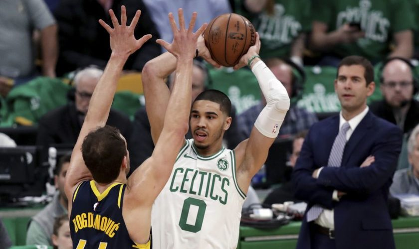 Kyrie Irving, Jayson Tatum lead Boston Celtics to 99-91 Game 2 victory over the Indiana Pacers