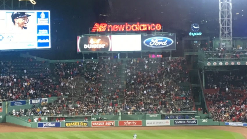 Police seize drone flown by youth over Red Sox game
