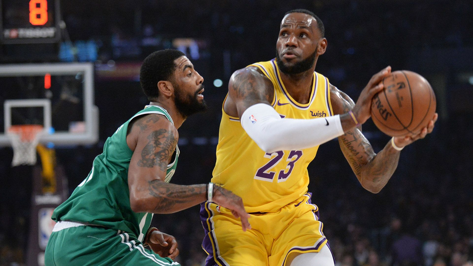 NBA rumors: Kyrie Irving has discussed joining LeBron James, Lakers