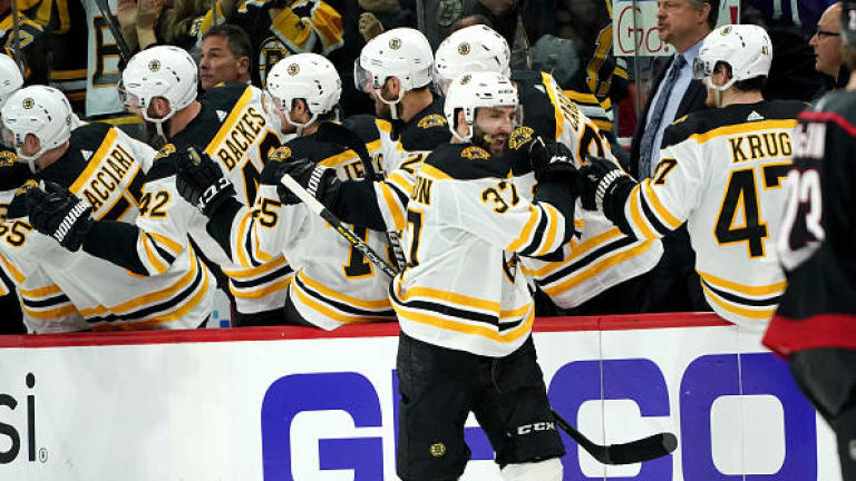 NHL Playoff Power Rankings: Boston Bruins Clear #1