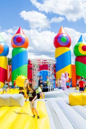 The world's largest bounce house comes to Greater Boston this summer
