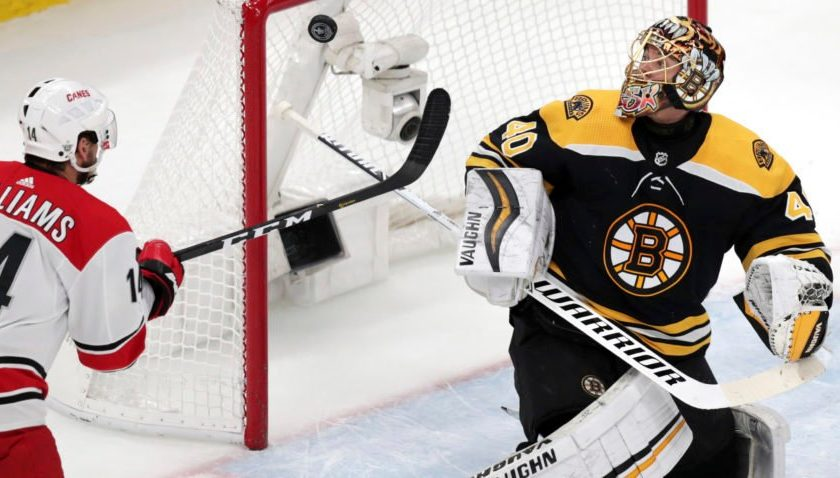 What the Bruins are doing to frustrate Hurricanes captain Justin Williams