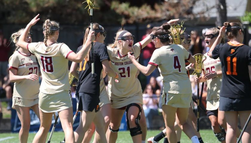 BC women top Princeton to reach third straight Final Four