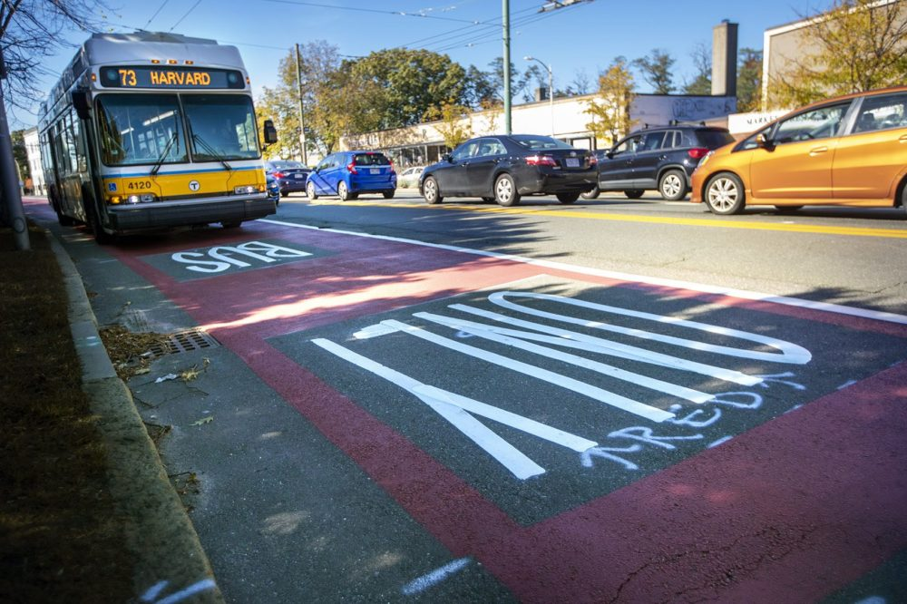 Dedicated Bus Lanes Are Making Commutes Faster In And Around Boston, Data Show