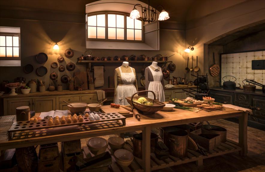 'Downton Abbey' moves into Boston's Castle
