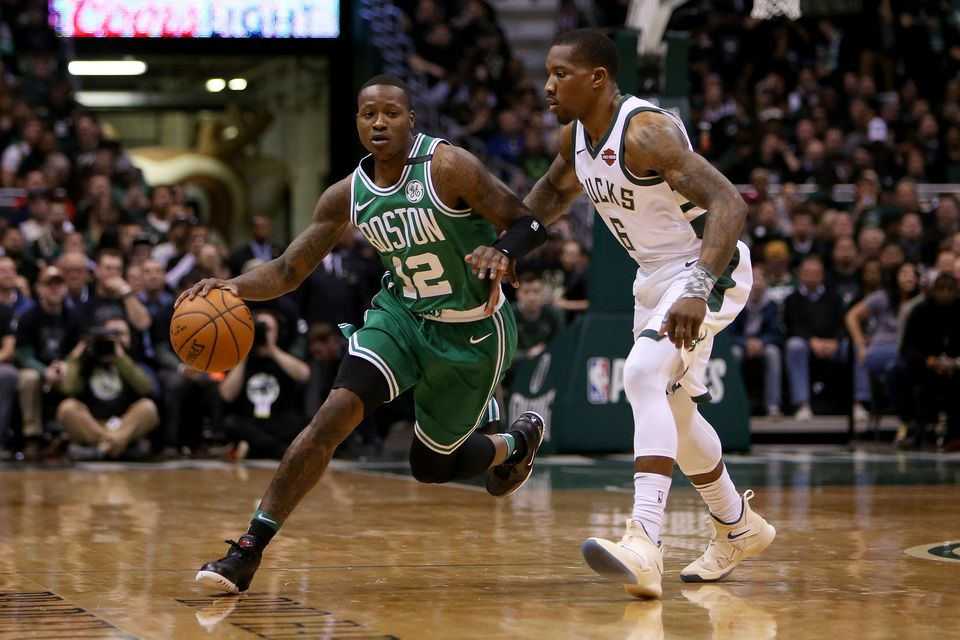 free shipping 94201 f7e2f Boston Celtics extend qualifying offers to Terry Rozier ...