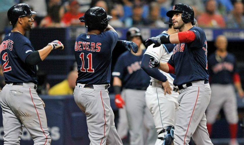 Red Sox 9, Rays 4: Rodriguez brilliant against as Boston cruises