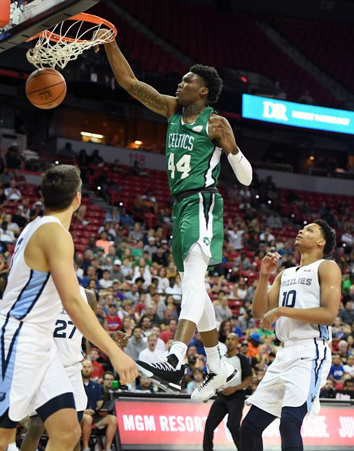 Robert Williams made solid strides during summer league