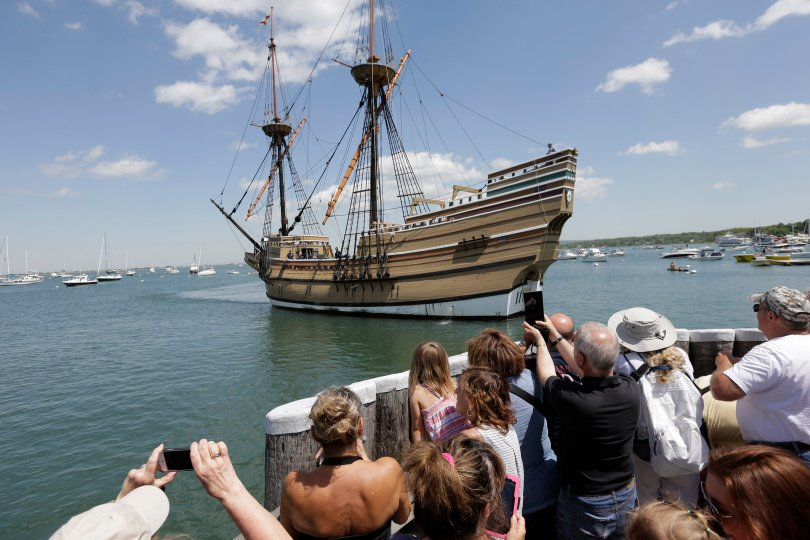 Mayflower replica will sail to Boston next year
