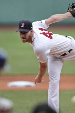 Chris Sale strikes out 12 to lead Boston Red Sox over Blue Jays; Rafael Devers, Mookie Betts both homer