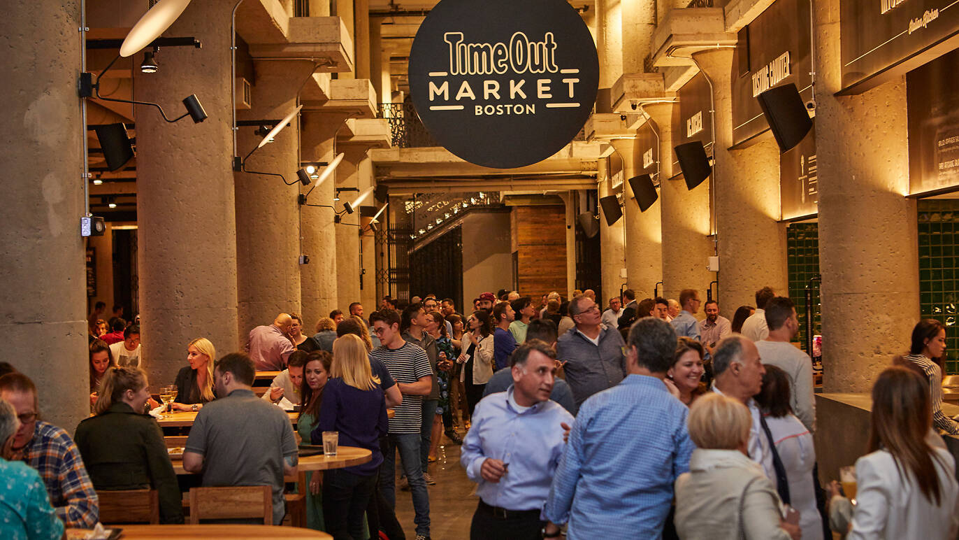 How to eat like a local at Time Out Market Boston