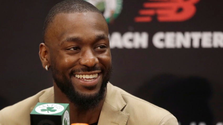 'Everything happens for a reason. Now I'm a Boston Celtic.': Kemba Walker talked about why he chose to come to Boston