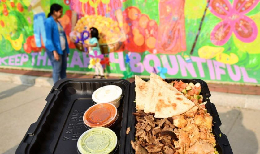 Boston's Beloved Middle Eastern Street Food Haven Moves Into The Heights — For Now
