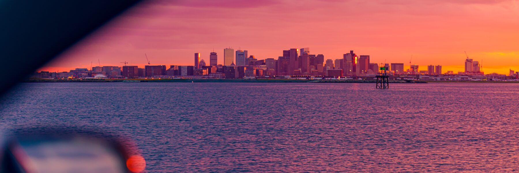 winthrop sunset best in boston